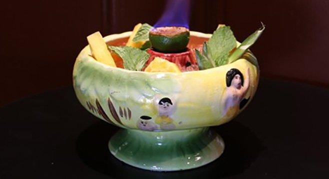 The Scorpion Bowl at the Cat Eye Club (courtesy of Cat Eye Club)