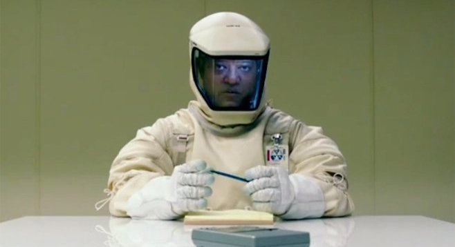 Laurence Fishburne in Will Eubank's The Signal.