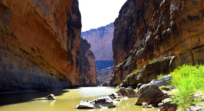 Santa Elena Canyon, Big Bend National Park.