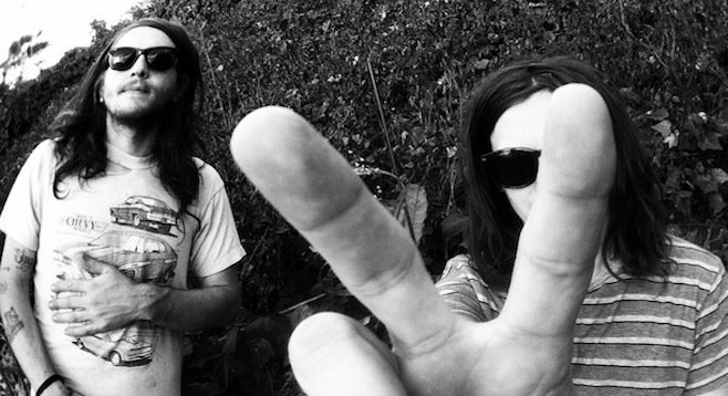 The heavy, happy psych-rock brothers Bird are Tweak Bird. They land at Soda Bar Tuesday night!