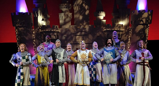 Spamalot at Moonlight Amphitheatre