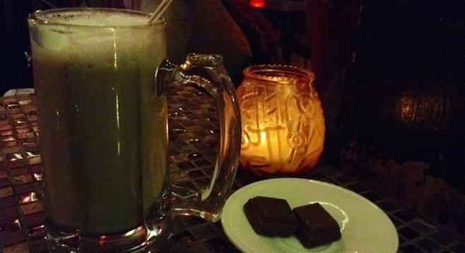 A latte, some chocolate, and thou?
