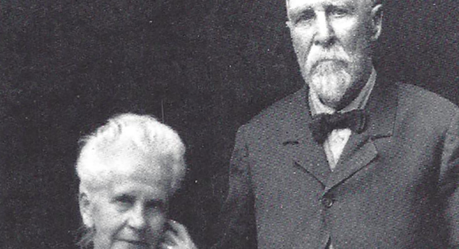 Herbert Crouch and wife