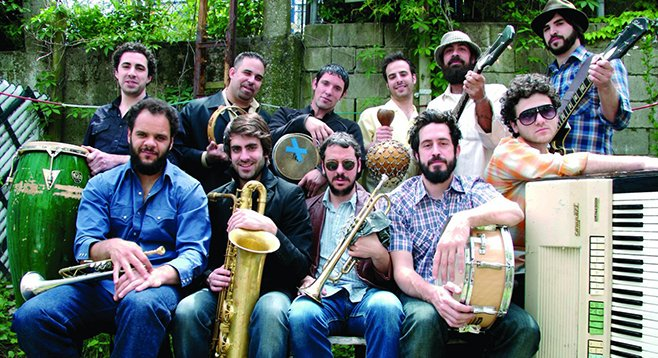 Brooklyn funksters the Budos Band take the Casbah stage Saturday night!