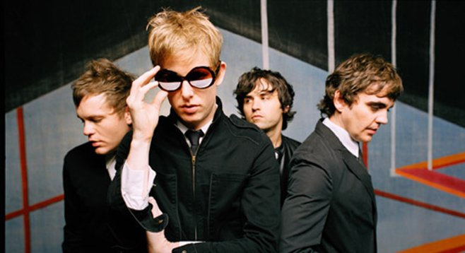 Indie rock's blue-eyed soul band Spoon plays the Sleep Train on Tuesday!