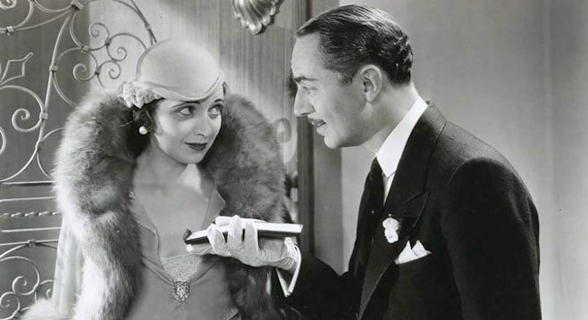 Kay Francis and William Powell in Jewel Robbery