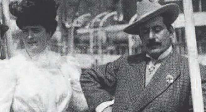 Elvira Bonturi and Puccini.