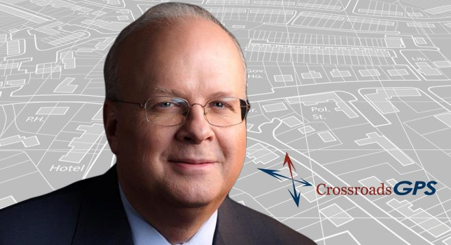 Karl Rove is a founder and adviser to American Crossroads and its nonprofit spin-off group, Crossroads Grassroots Policy Strategies.