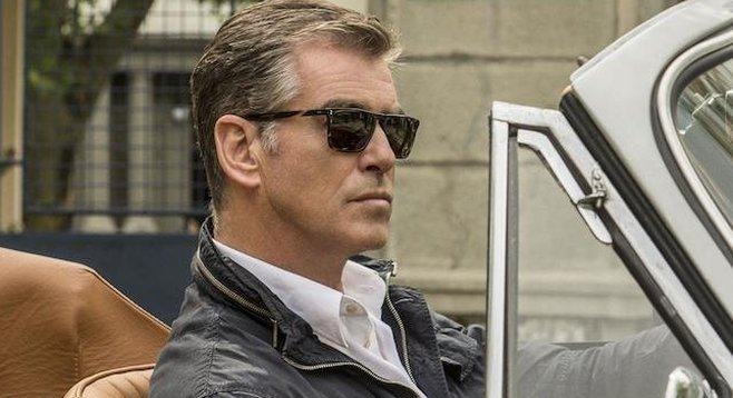 Pierce Brosnan is The November Man.