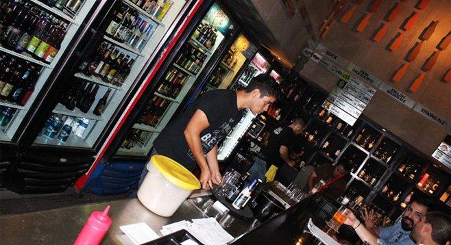 Baja Craft Beers in Tijuana