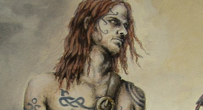 Woad Warrior by Becka-Van-Filth