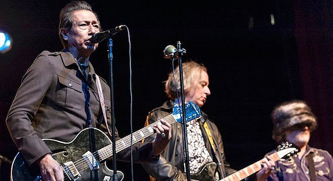 Punk-informed rockers Alejandro Escovedo and Peter Buck will share the stage at Belly Up Monday night!