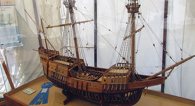 Miniature San Salvador replica