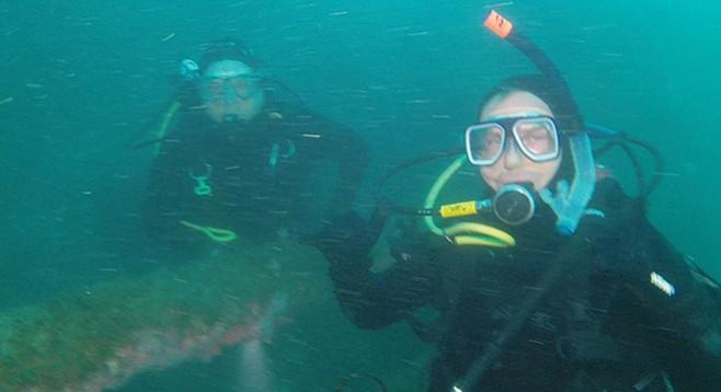Jason on the Yukon at depth