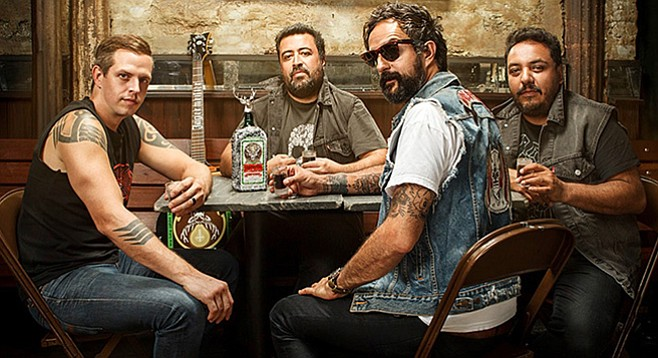 Mexican rap-rock act Molotov plays Porter's Pub at UCSD on Monday night.