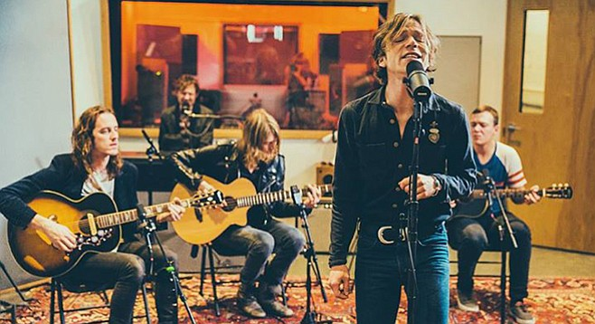 Alt-rock radio staples Cage the Elephant will perform at this year's 91X Wrex the Halls concert on Friday night!