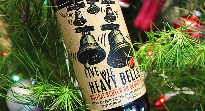 Karl-Strauss Brewing's 5 Wee Heavy Bells