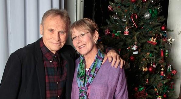 Troubadour's Kent Johnson and Liz Abbott in homier times