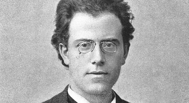 Gustav Mahler getting some love in the highlights.