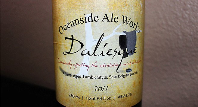 Oceanside Ale Works Daliesque