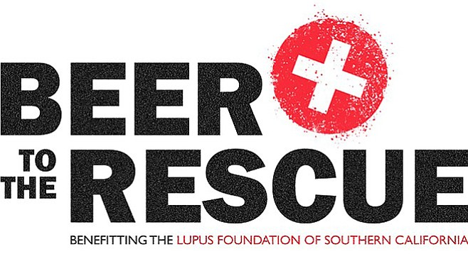 Beer to the Rescue, a craft beer industry-driven campaign benefitting the Lupus Foundation of Southern California