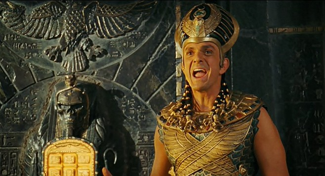 Kahmunrah and the Tablet of Ahkmenrah from the Night at the Museum film franchise, which, it turns out, takes some liberties in its depiction of the museum-going experience.