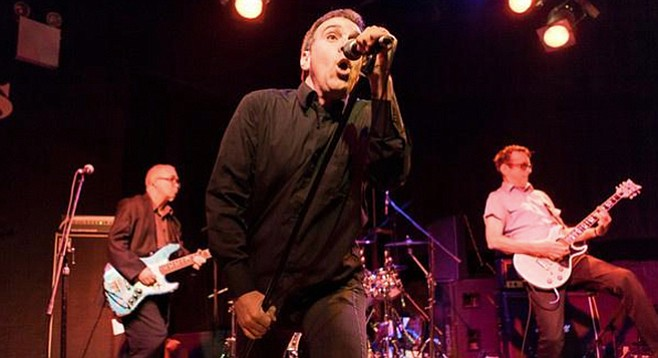 Cali punk perennials the Dead Kennedys take the stage at Belly Up Thursday night!