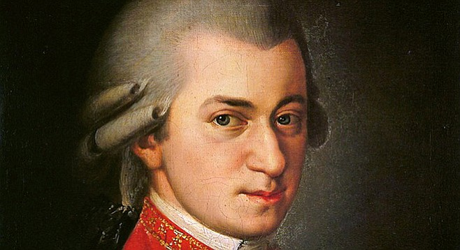 Mozart, the genius, is folky.