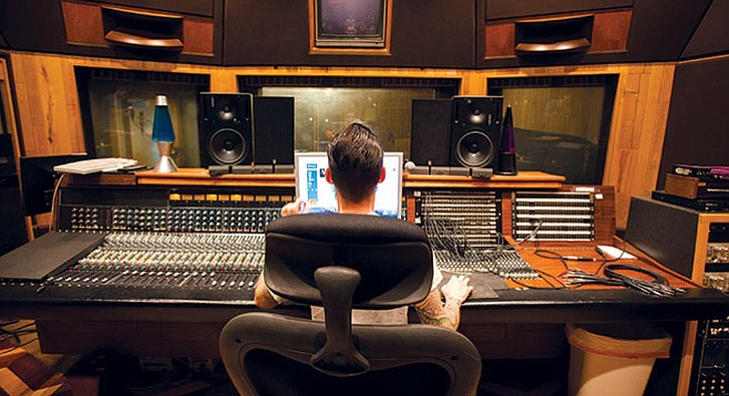 Big Fish Studios offers bands top-end gear and the feel of a relaxed country retreat in Olivenhain.