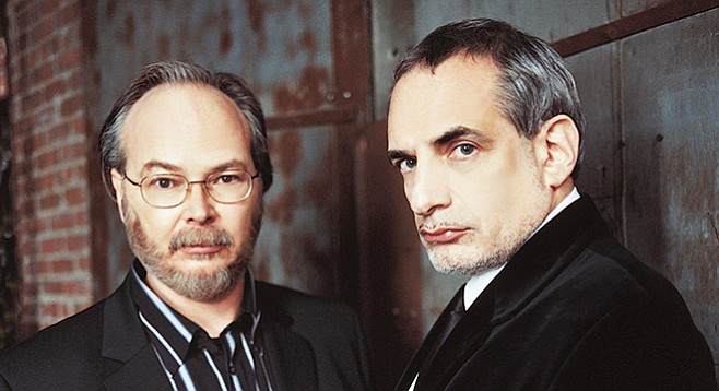 Hip again for the first time, Walter Becker and Donald Fagan went to Coachella. Steely Dan plays Humphrey's by the Bay Saturday and Sunday!