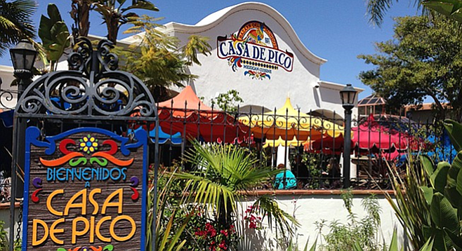 Casa De Pico Brings Old Town To La Mesa San Diego Reader