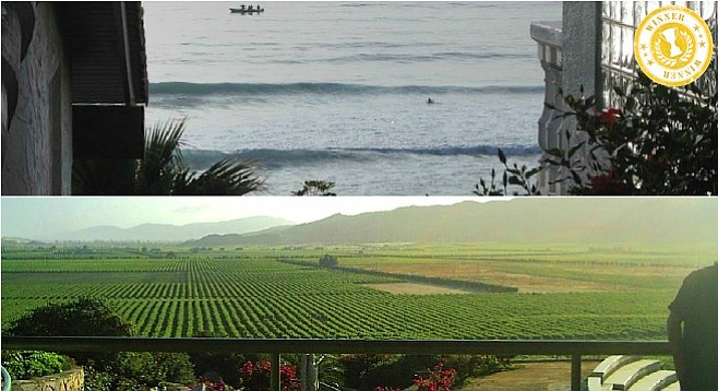 Under-two-hour-drive views from La Misión (top) and L.A. Cetto (bottom) (photo: L.A. Cetto).