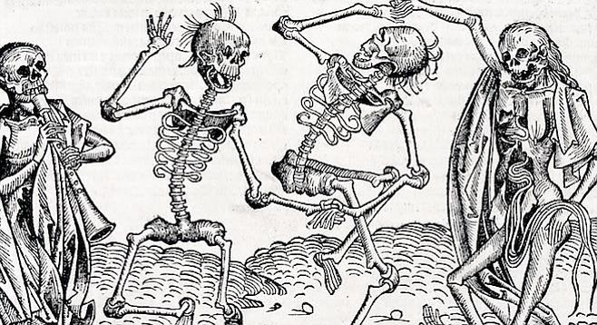Danse Macabre by Michael Wolgemut