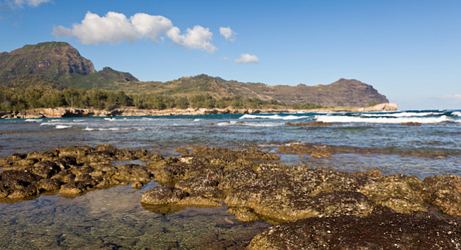 Tidepools at Maha'ulepu beach, Kauai. (Photo: BackyardProduction, Thinkstock)