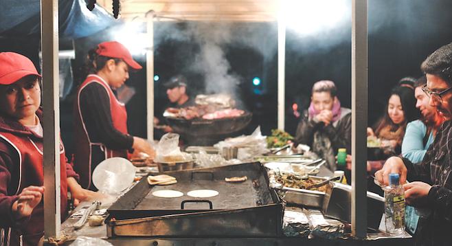 Tacos Puebla las Amigas
