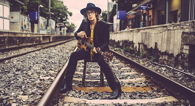 Brit-folk poet Mike Scott and his Waterboys play Humphreys by the Bay behind their rootsy new record, Modern Blues.