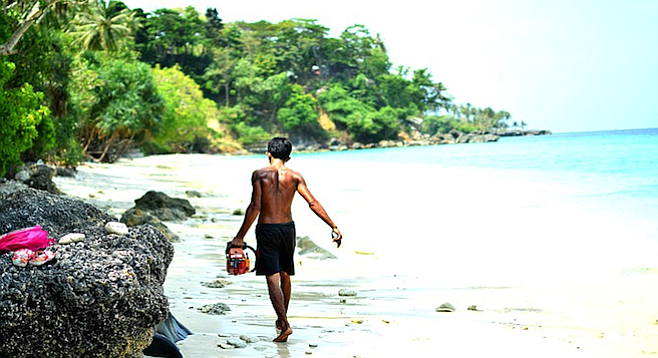 In Sabang, lives – and daily routines – have mostly returned to normal.
