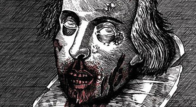 Cheryl has a tattoo of Zombie William Shakespeare on her upper arm.
