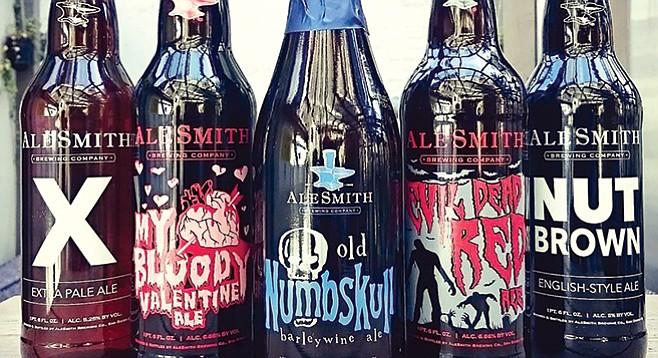 Alesmith beers featured at Kanaal Bar in Sofia, Bulgaria