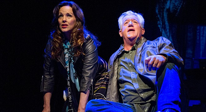Alice Ripley and Gregory Jbara in Everybody's Talkin: The Music of Harry Nilsson at San Diego Rep