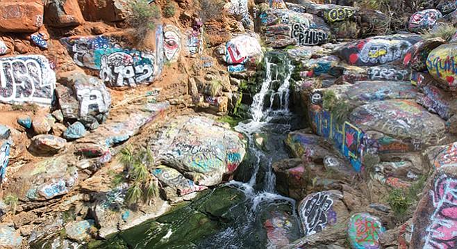 Adobe Falls