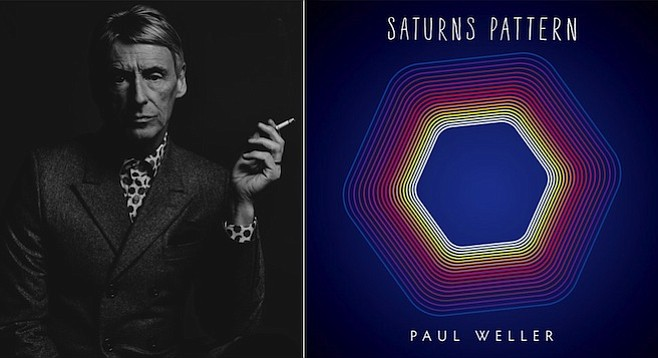 The Jam man Paul Weller continues to reinvent himself with Saturns Pattern.