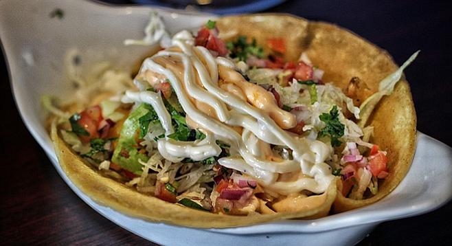 The 99-cent fish taco is always a risky choice.