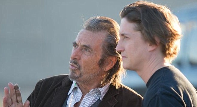 Al Pacino and David Gordon Green