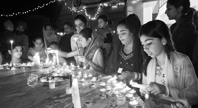 "Diwali celebration. ""We're very against pride. We're all about being humble."""