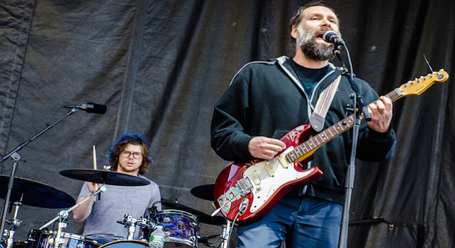 Indie-rock vets Built to Spill pour it on Belly Up Friday night.
