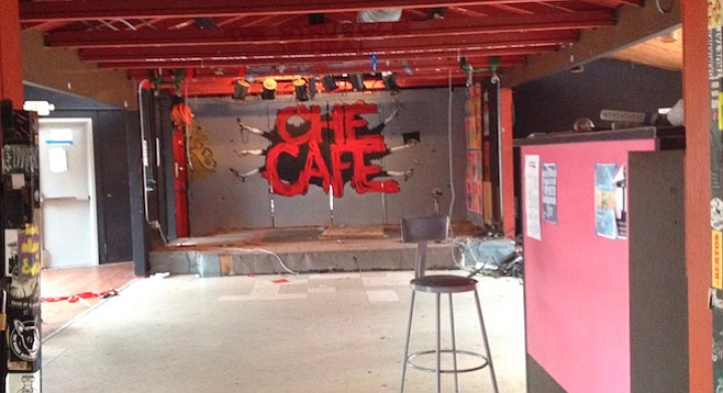 Can the Ché Café stay? Stay tuned!