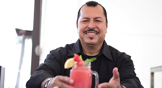 Jose Palma at the Hotel Del