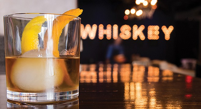 Old Fashioned at Whiskey House
