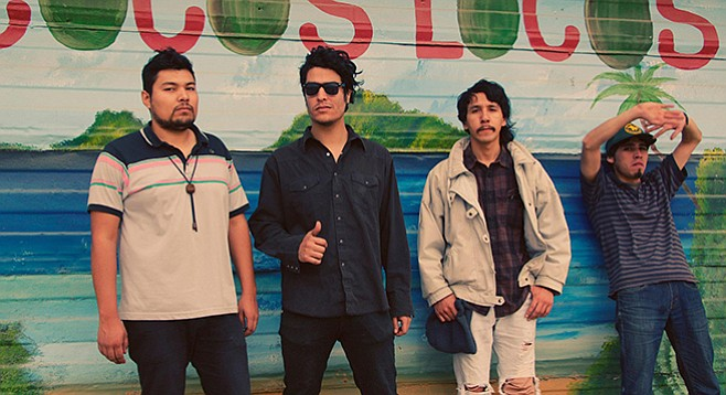 "The proto-punk psicodélico San Pedro El Cortez says, ""We definitely moved on from straight-up garage rock."""
